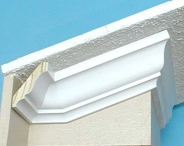 Install Crown Molding Cathedral